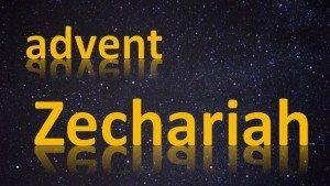 advent zechariah title slide
