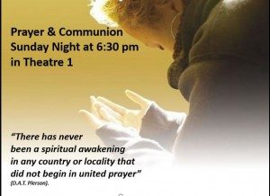 prayer & communion
