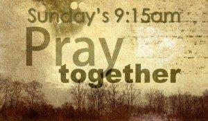 preservice prayer