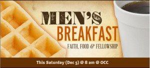 sat mens breakfast