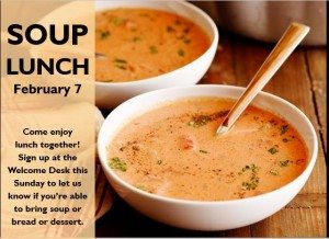 february soup lunch