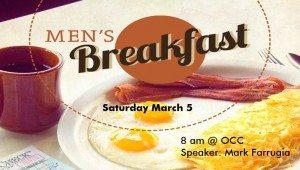 march men's breakfast