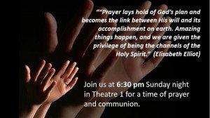 sunday pm prayer