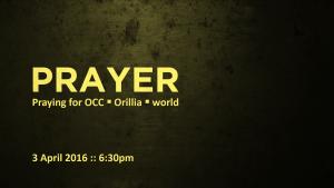 prayer april