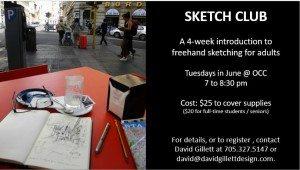 sketch club
