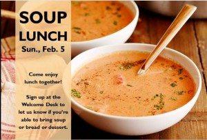 feb soup lunch