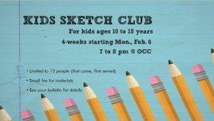 kids sketch club