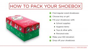 its time for operation christmas child packing those shoeboxes weve put some resources on this page - Operation Christmas Child Shoeboxes